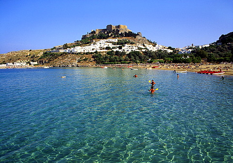 Lindos, Rhodes, Greece, Europe - 645-2228