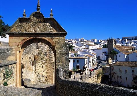 Felipe V Gate, Ronda, Andalucia, Spain - 645-3826