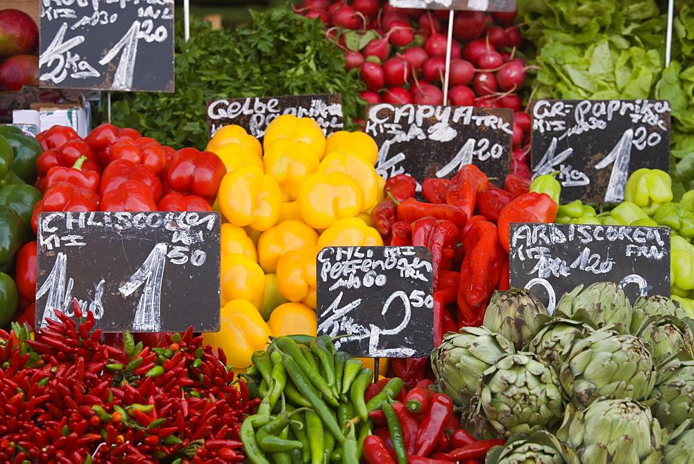 Naschmarkt, Vienna, Austria, Europe