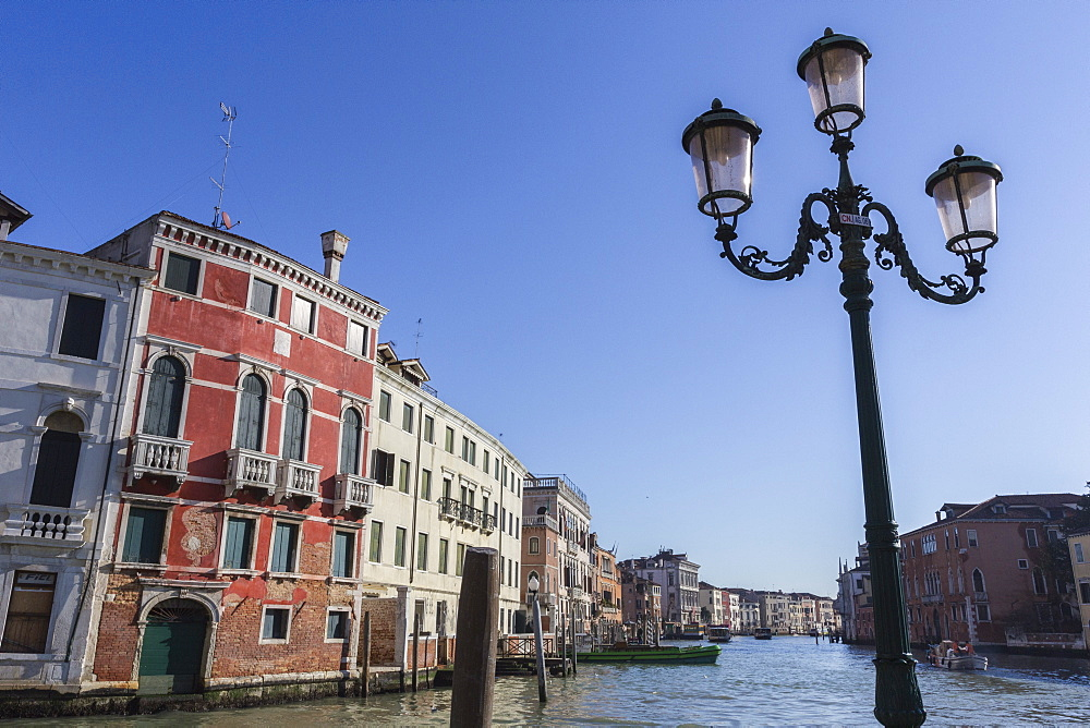 Grand Canal, Venice,UNESCO World Heritage Site, Veneto, Italy, Europe - 667-2584