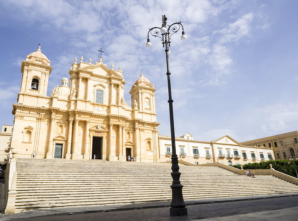The Cathedral, UNESCO World Heritage Site, Noto, Sicily, Italy, Europe - 667-2600