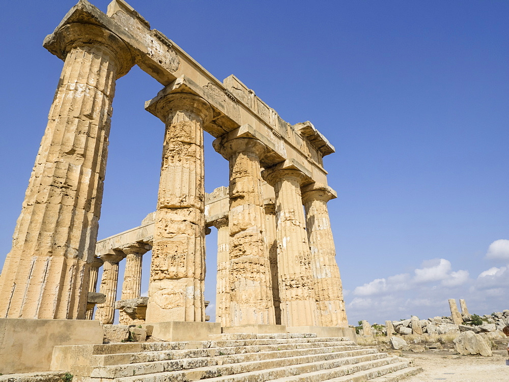 Temple of Selinunte, Sicily, Italy, Europe - 667-2609
