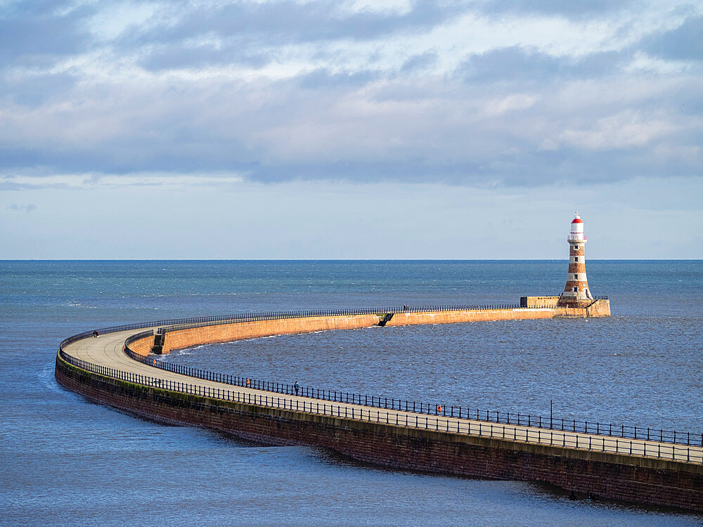 The Pier, Roker, Sunderland, England, United Kingdom, Europe - 667-2686