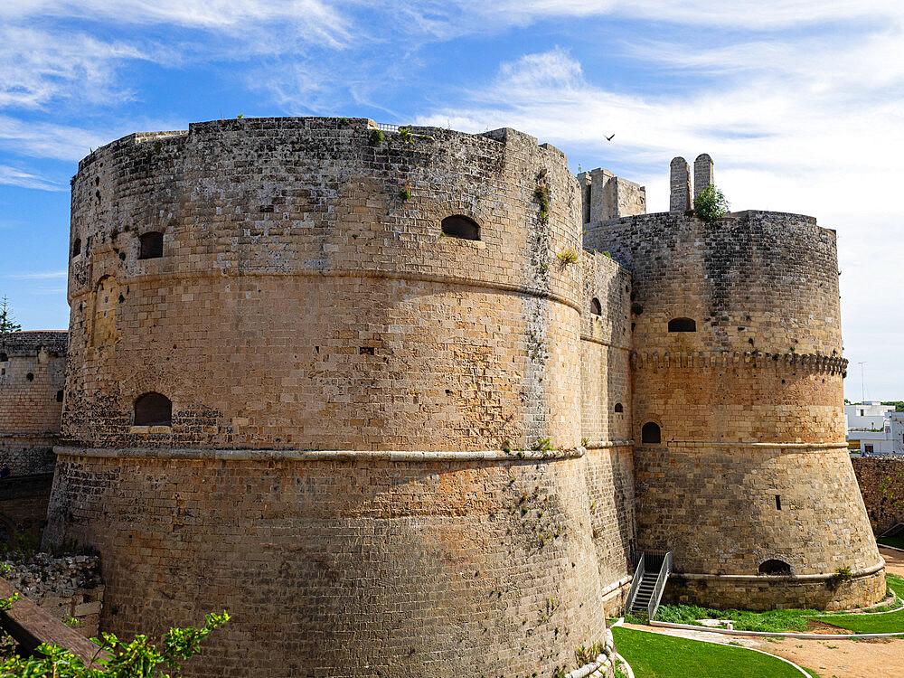 Aragonese Castle, Otranto, Apulia, Puglia, Italy, Europe - 667-2690