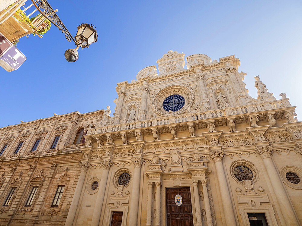 Church of the Holy Cross, Lecce, Puglia, Italy, Europe - 667-2694