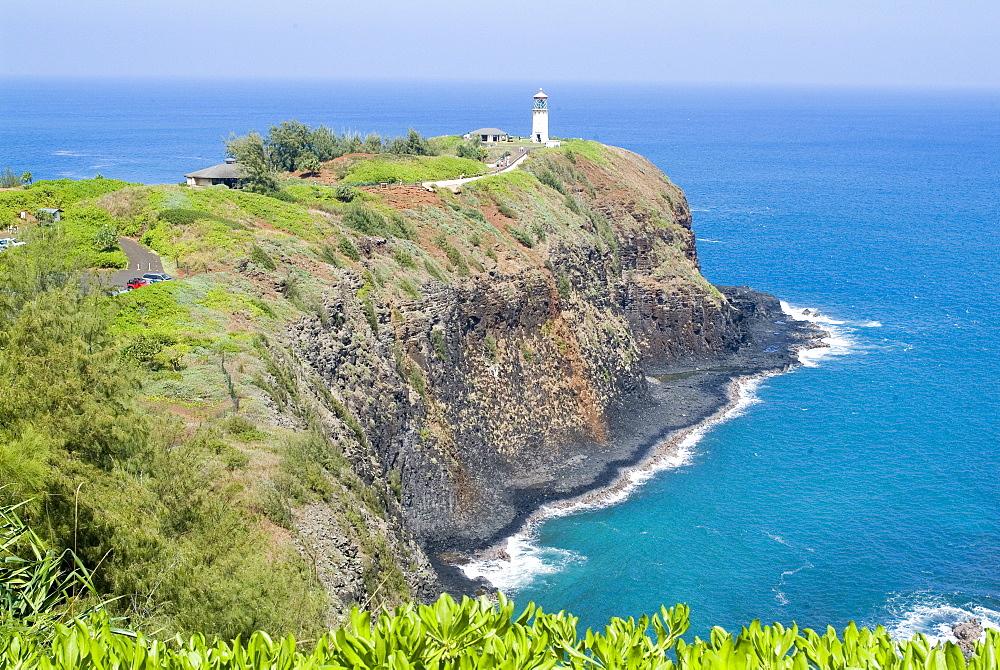 Kilauea Lighthouse, Kilauea Point, National Wildlife Refuge, Island of Kauai, Hawaii, United States of America, Pacific, North America