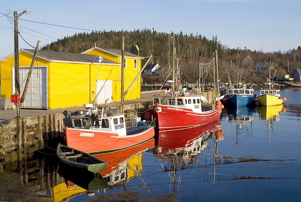 North West Cove fishing village, Nova Scotia, Canada, North America