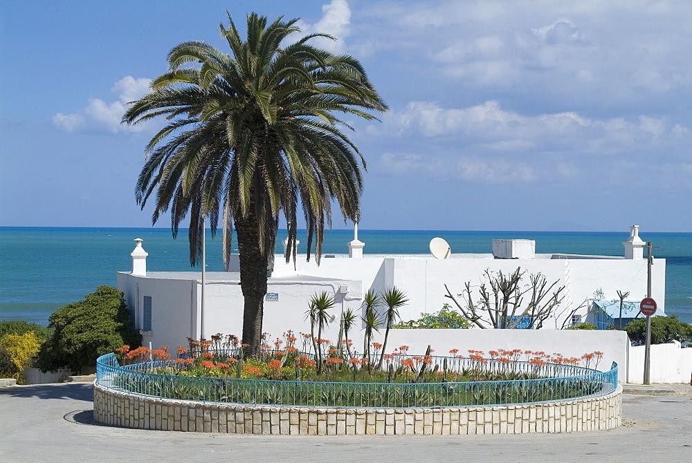 Seaside home, La Marsa resort, near Tunis, Tunisia, North Africa, Africa