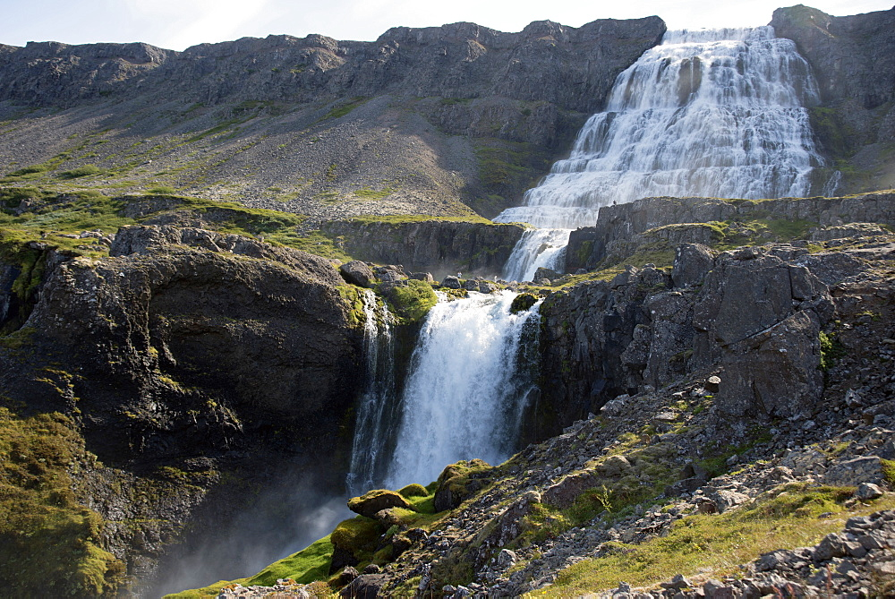 Dynjandi (Fjallfoss) waterfall, West Fjords, Iceland, Polar Regions - 685-2626