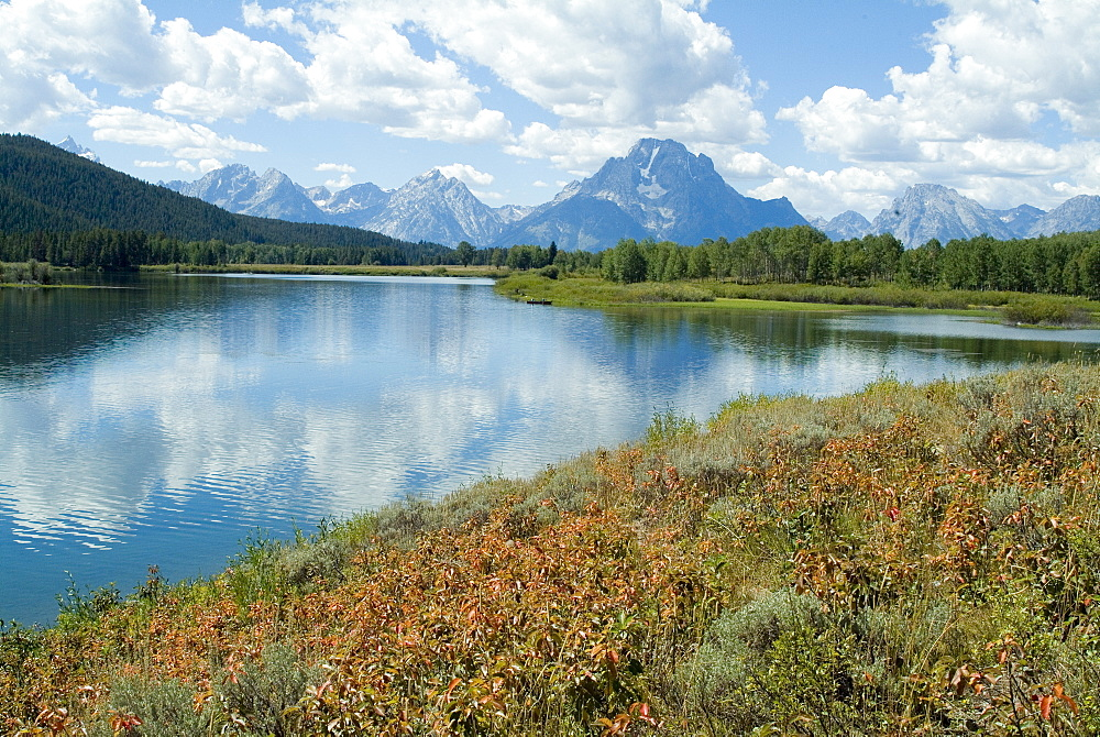 Oxbow Bend, Grand Teton National Park, Wyoming, United States of America, North America