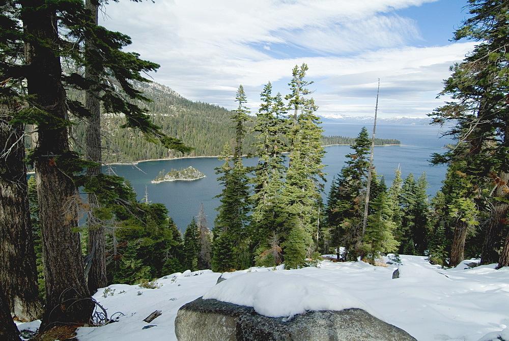 Emerald Bay, Lake Tahoe, California, United States of America, North America