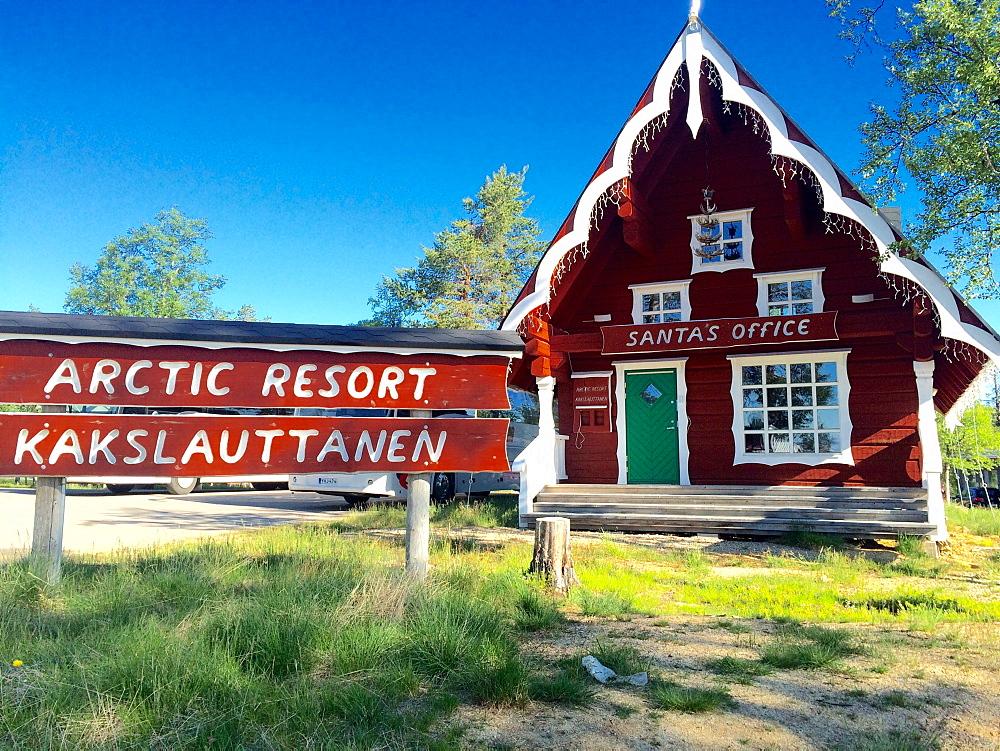 Santa's Office, Saariselka, Inari, Northern Lapland, Finland, Europe