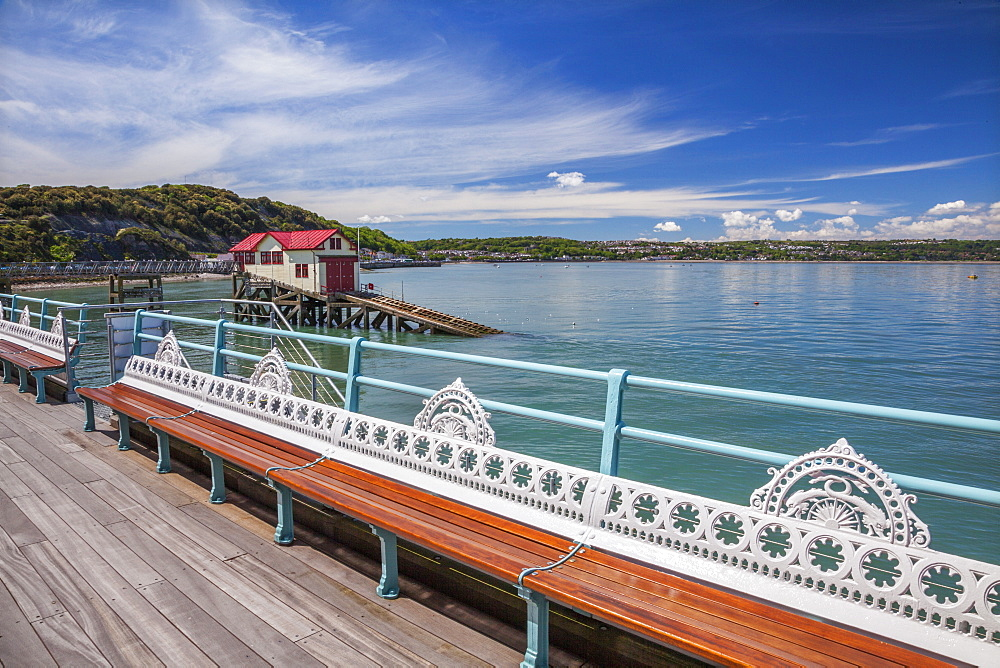 Mumbles Pier, Mumbles, Gower, Swansea, Wales, United Kingdom, Europe