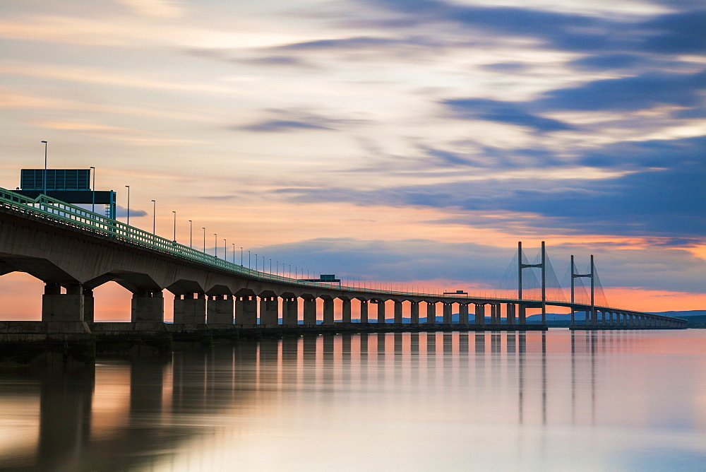 Second Severn Crossing, South East Wales, United Kingdom, Europe - 696-806