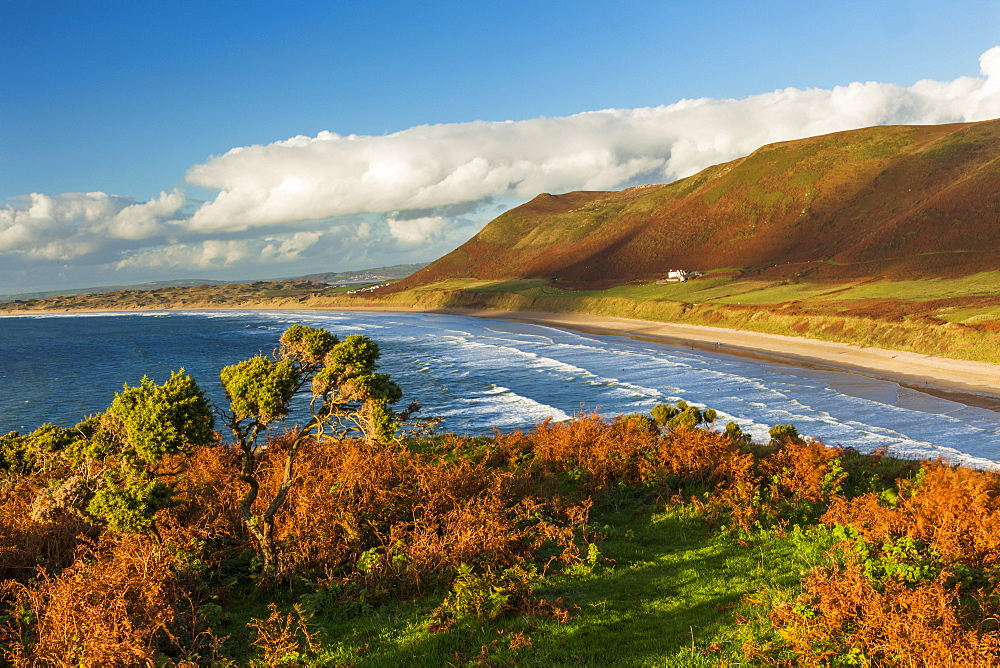Rhossili Bay, Gower, Wales, United Kingdom, Europe - 696-810