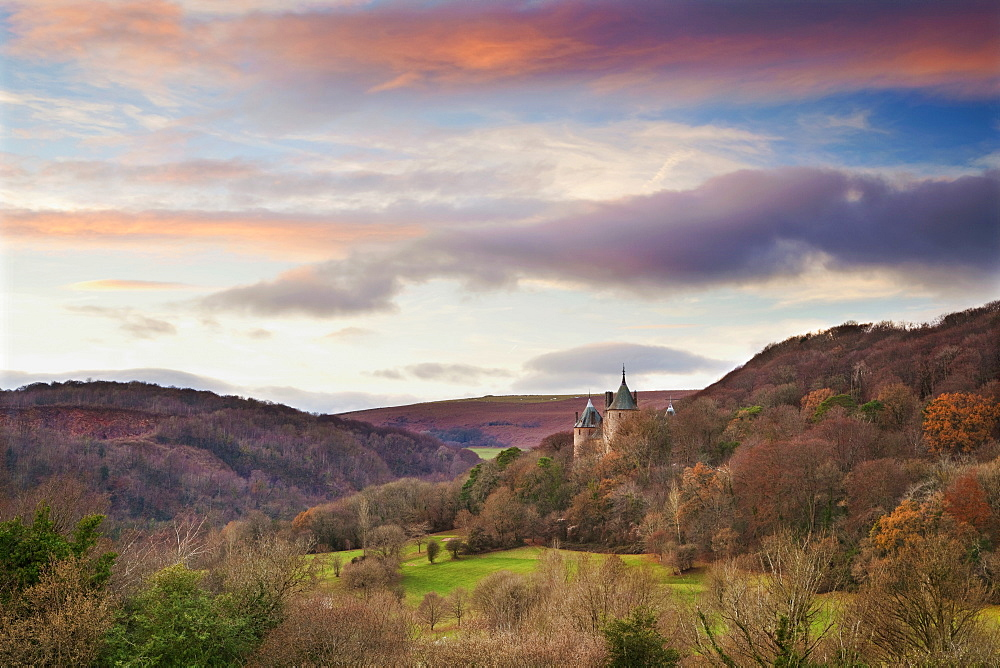 Castle Coch (Castell Coch) (The Red Castle), Tongwynlais, Cardiff, Wales, United Kingdom, Europe - 696-848