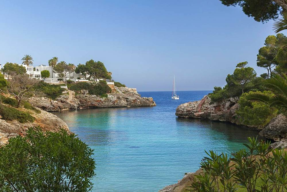 Cala Egos Beach, Cala D'or, Mallorca, Balearic Islands, Spain, Mediterranean, Europe