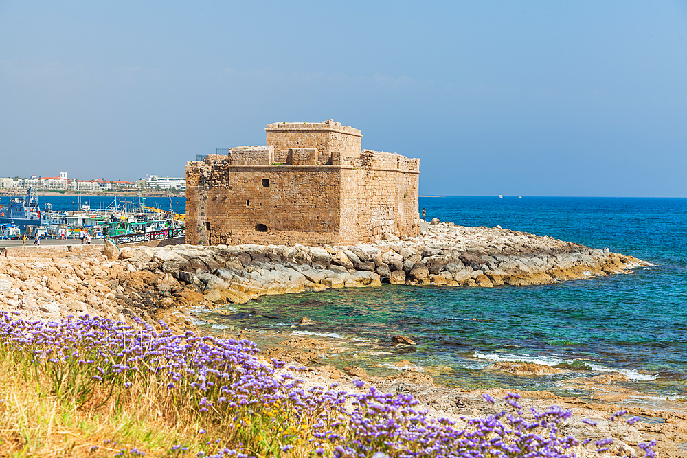Paphos Castle, Paphos, Cyprus, Mediterranean, Europe