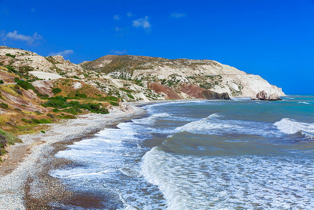 Aphrodite's Rock, Paphos, Cyprus, Mediterranean, Europe - 696-893