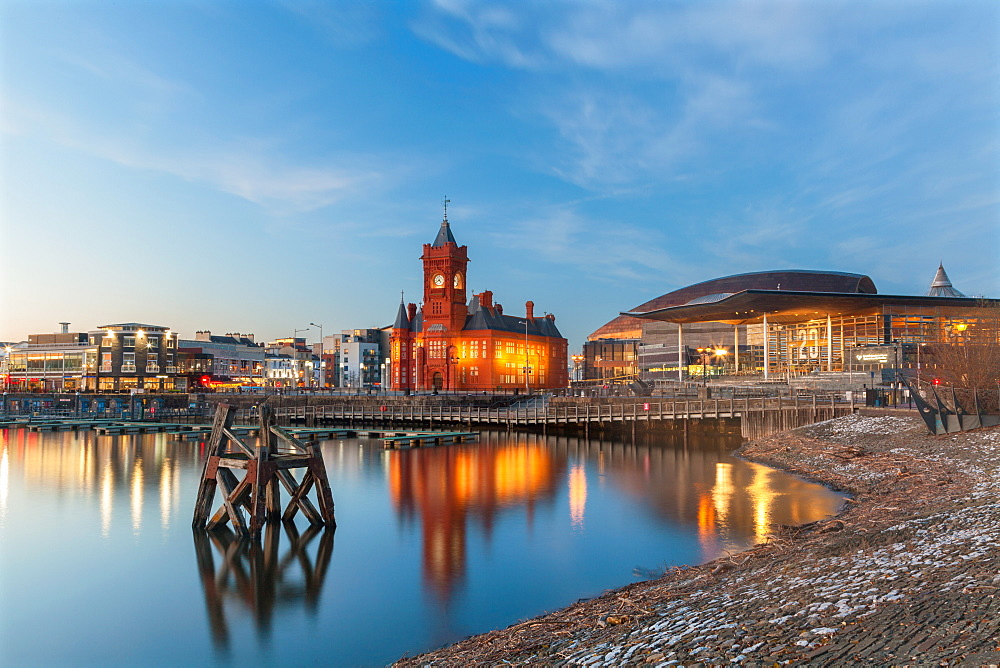 Cardiff Bay, Cardiff, Wales, United Kingdom, Europe - 696-897
