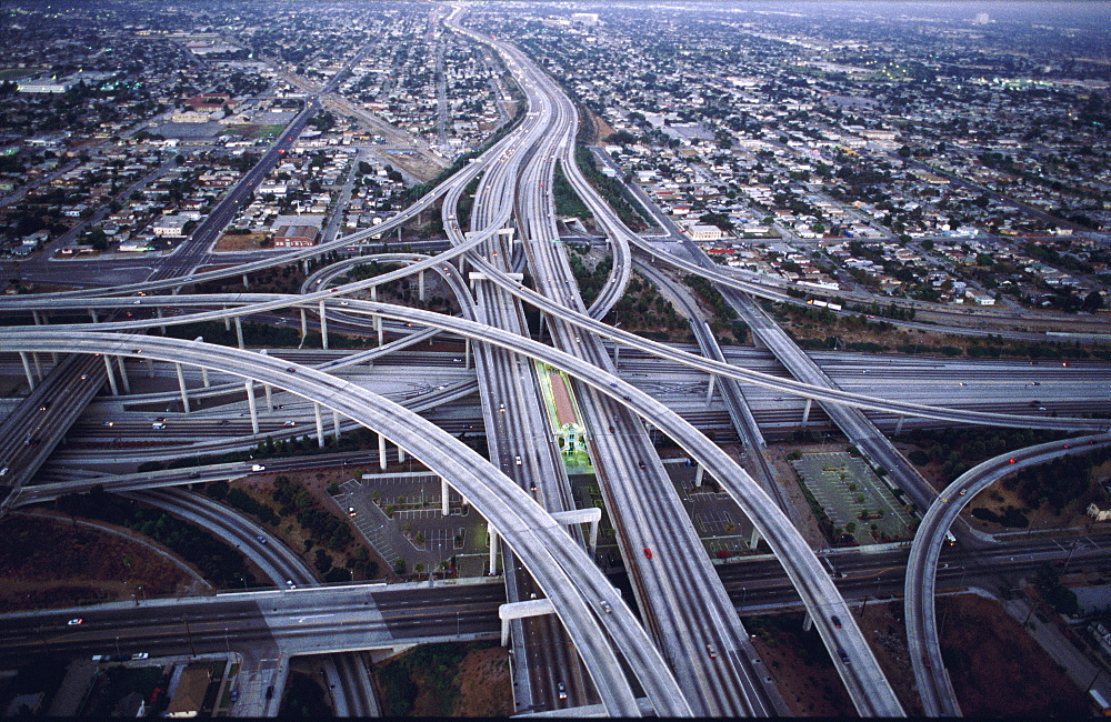 Usa, Los Angeles, Freeways Intersection - 700-10304