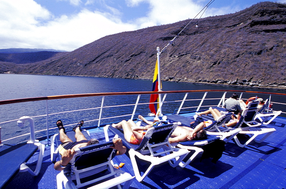 Ecuador, Galapagos Archipelago, Cruise On Board Of Ms Santa Cruz,