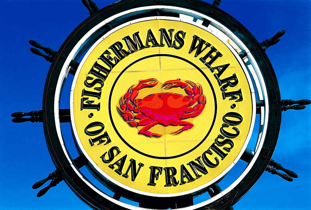 Fisherman's Wharf Sign, San Francisco, California, Usa - 700-3630