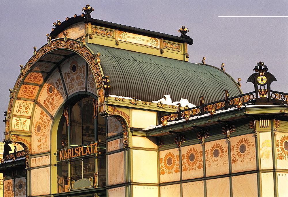 Karlsplatz Cafe, Jugenstil, Vienna, Austria