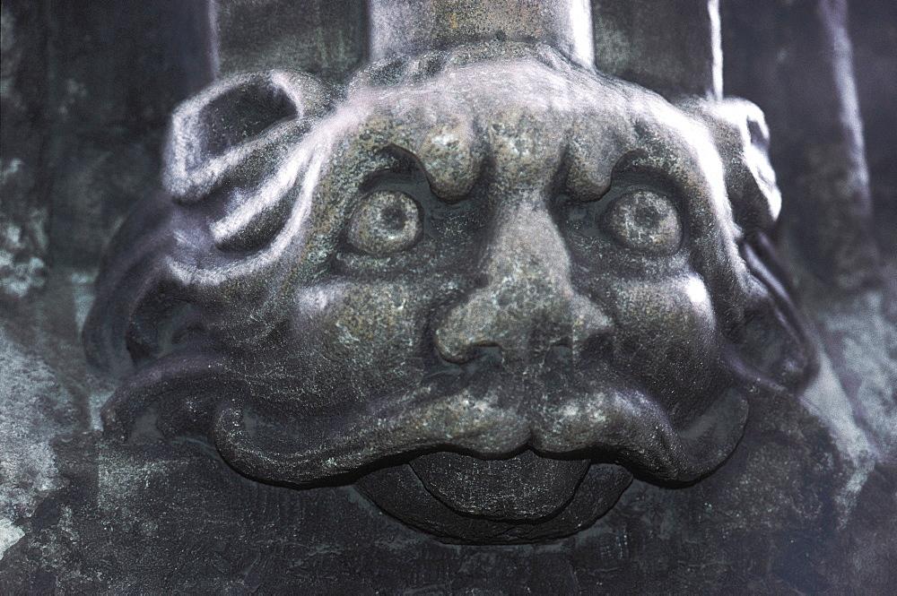 Devil Sculpture, St Stephan Cathedral, Vienna, Austria