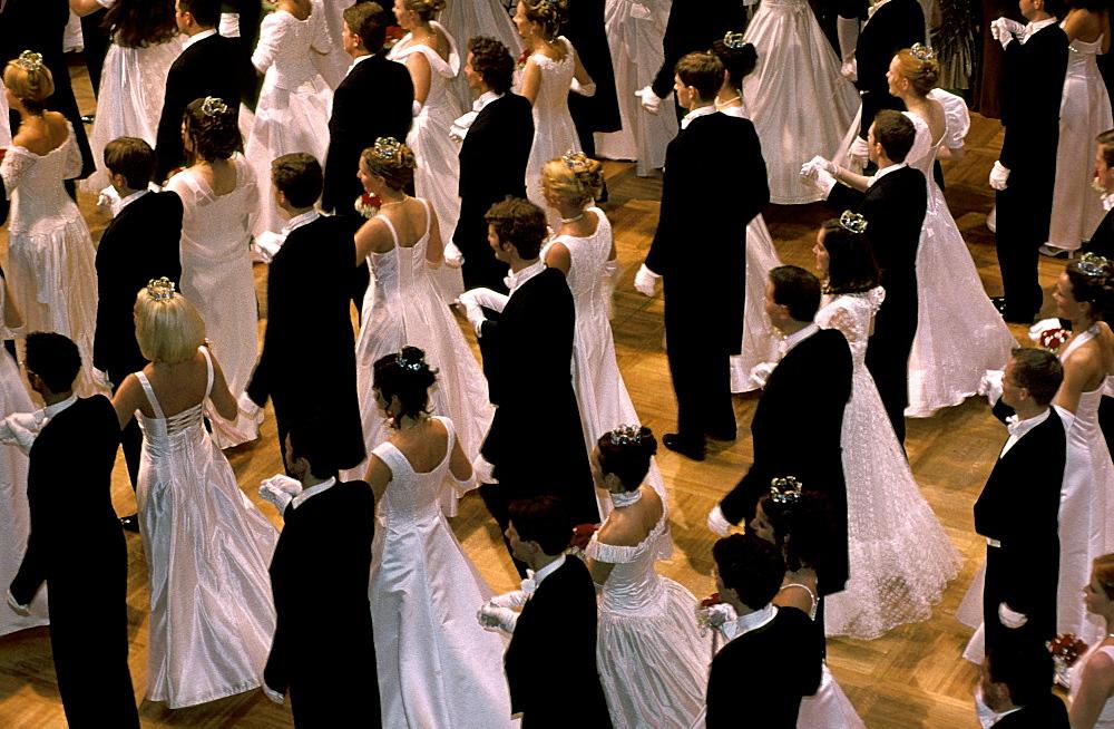 Austria, Vienna, Opera Ball Opening
