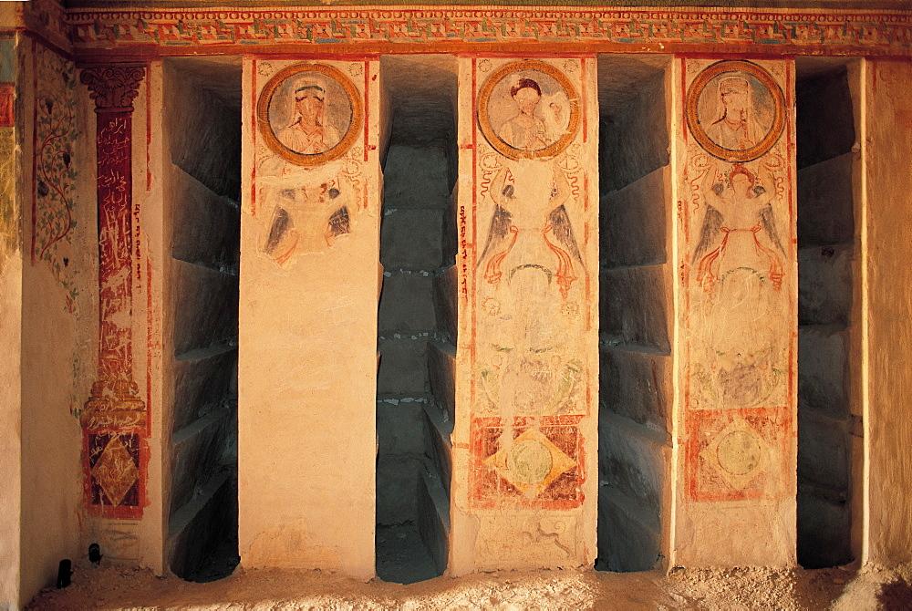 Syria, Palmyra, Underground Graves