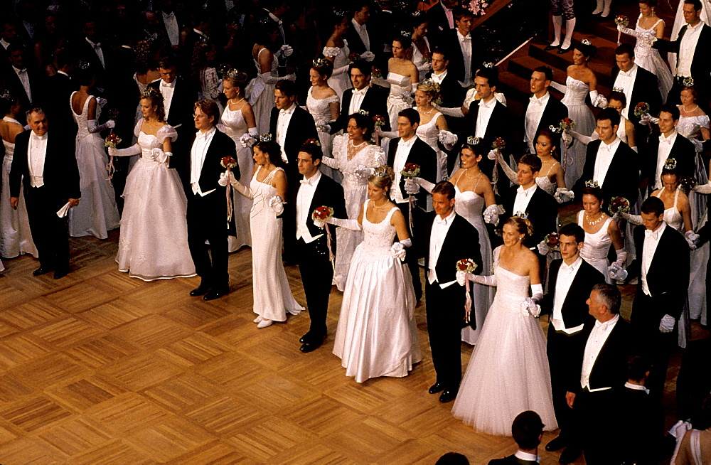 Austria, Vienna, Opera Ball, Opening
