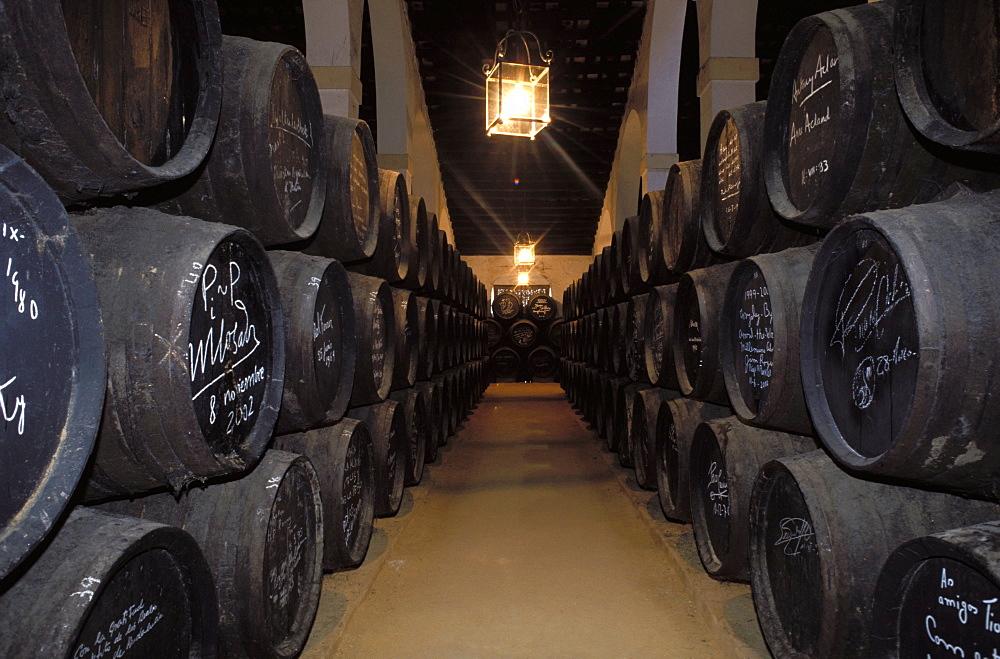 Tio Pepe winery, jerez de la frontera, Andalucia, Spain