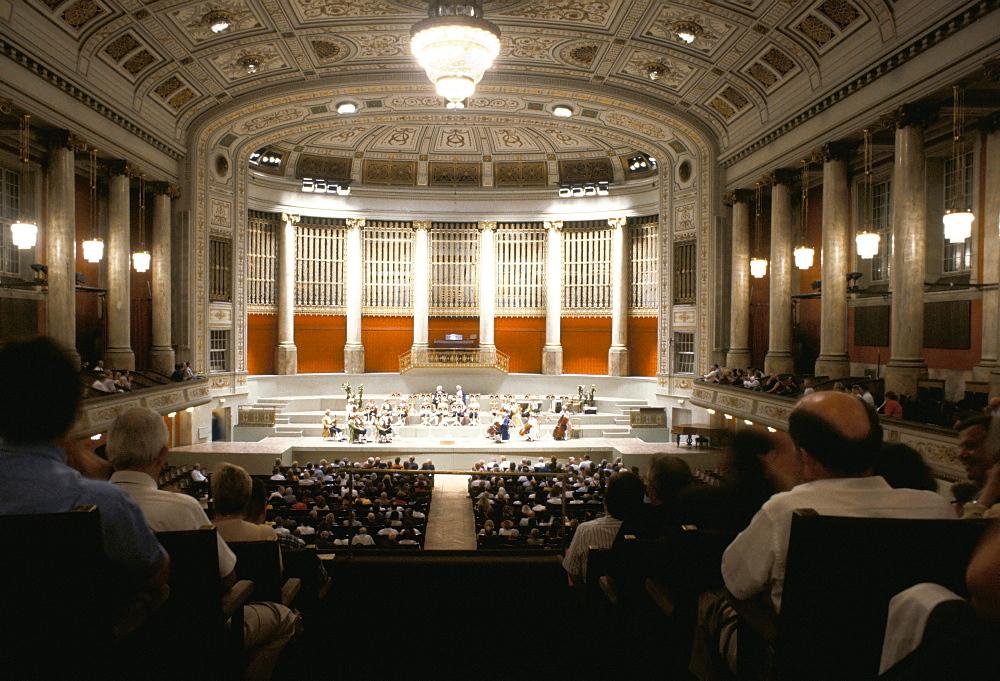 Mozart orchestra, Konzerthaus (Concert hall), Vienna, Austria, Europe