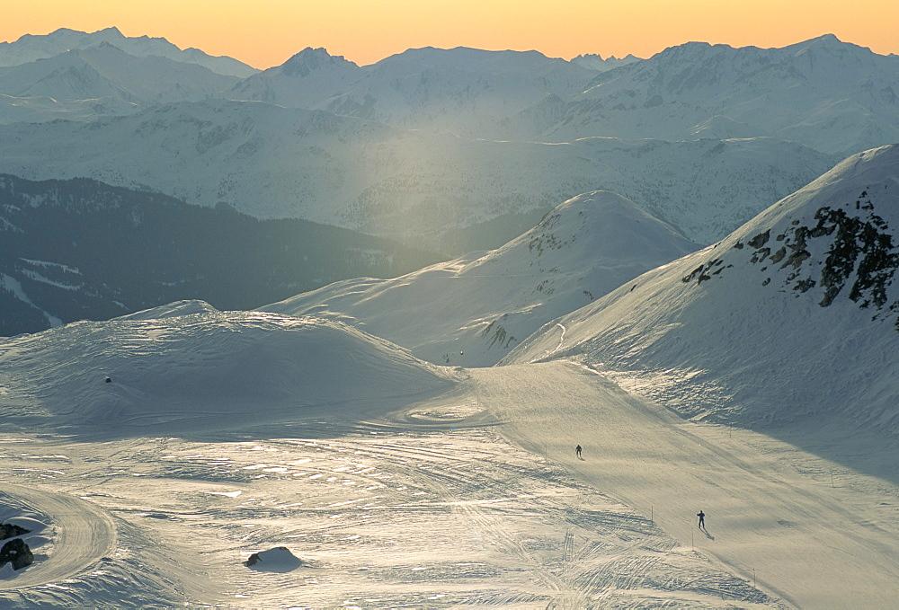 Winter sports, La Plagne, Savoie (Savoy), France, Europe