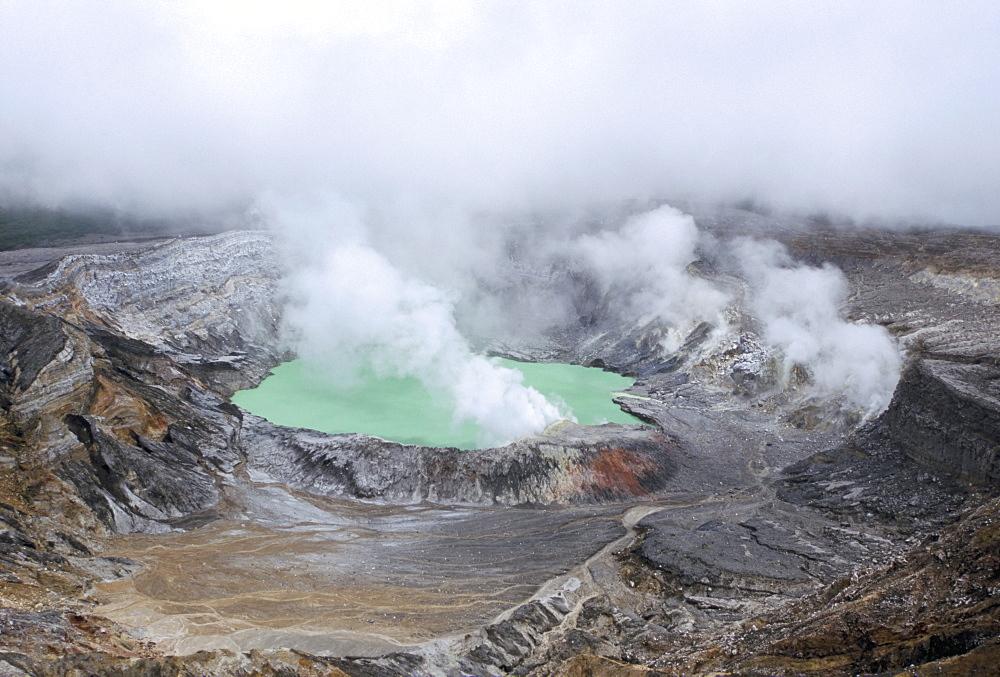 Poas volcano, Costa Rica, Central America