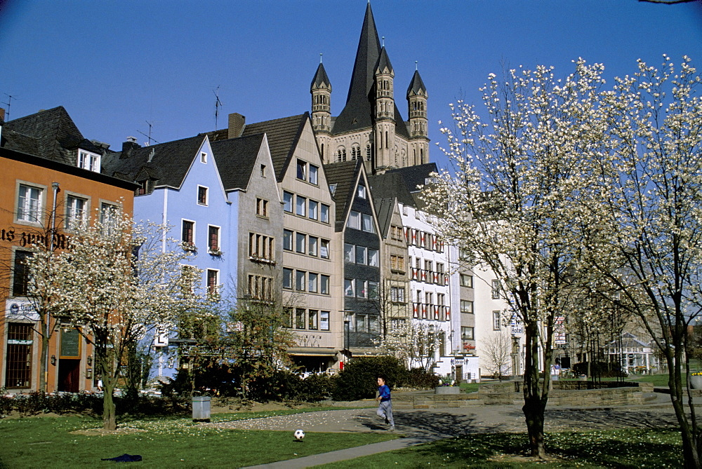 Koln (Cologne) in spring, Germany, Europe - 700-9832