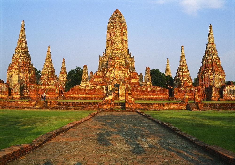 Phra Nakhon Si Ayutthaya, Wat Chai Wattanaram, Thailand