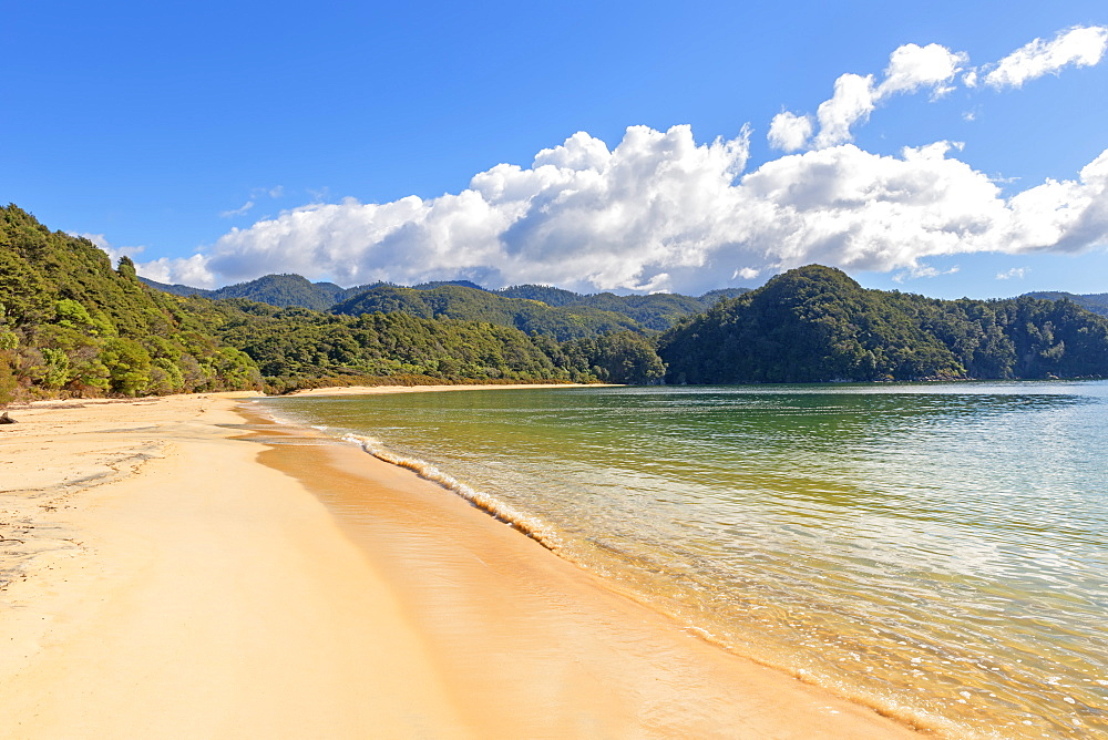 Anchorage Bay, Abel Tasman National Park, Nelson, South Island, New Zealand, Pacific