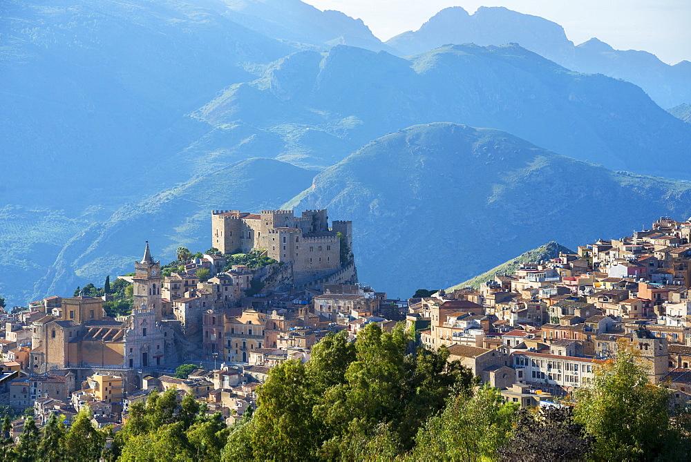 Caccamo castle, Caccamo, Sicily, Italy, Europe