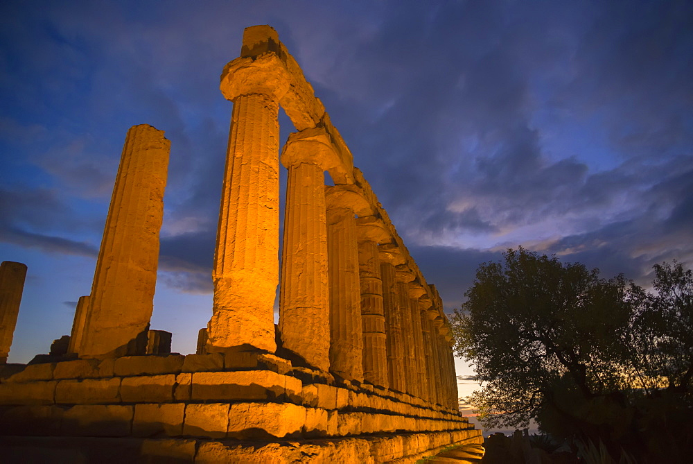 Temple of Juno, Valley of the Temples, Agrigento, UNESCO World Heritage Site, Sicily, Italy, Europe - 718-2131
