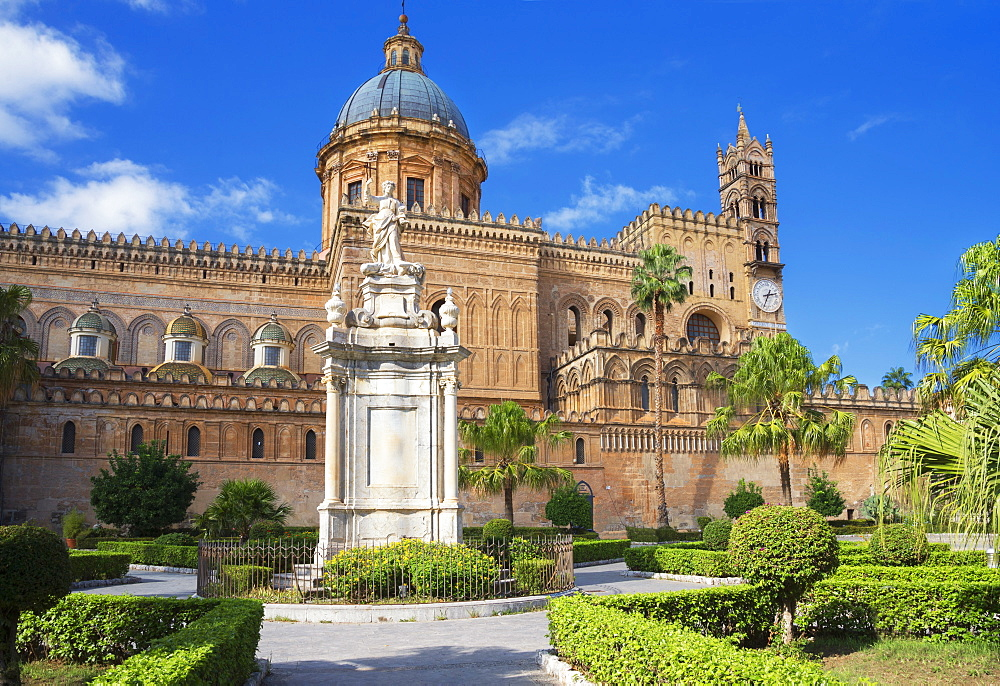 Palermo Cathedral, Palermo, Sicily, Italy, Europe - 718-2147
