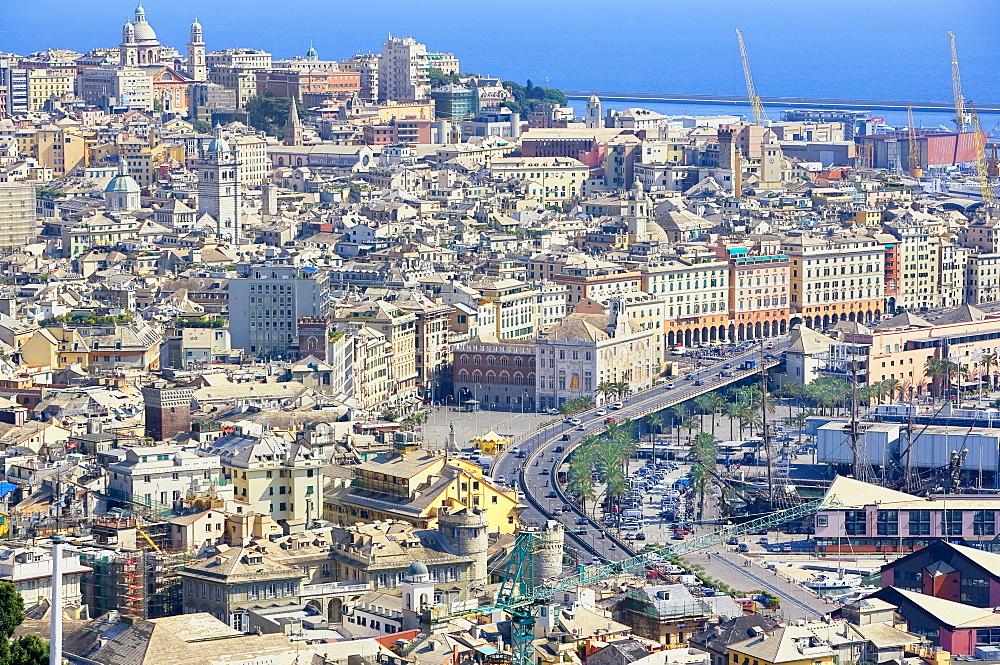 Cityscape, Genoa, Liguria, Italy - 718-2190