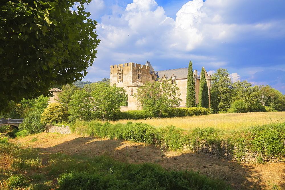 Allemagne en Provence castle, Allemagne en Provence, Alpes de Haute Provence, France, Europe, - 718-2204