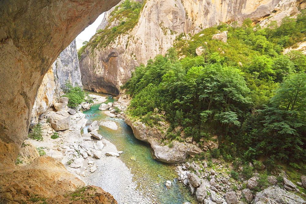 Gorges du Verdon, Provence-Alpes-Cote d'Azur, Provence, France - 718-2215