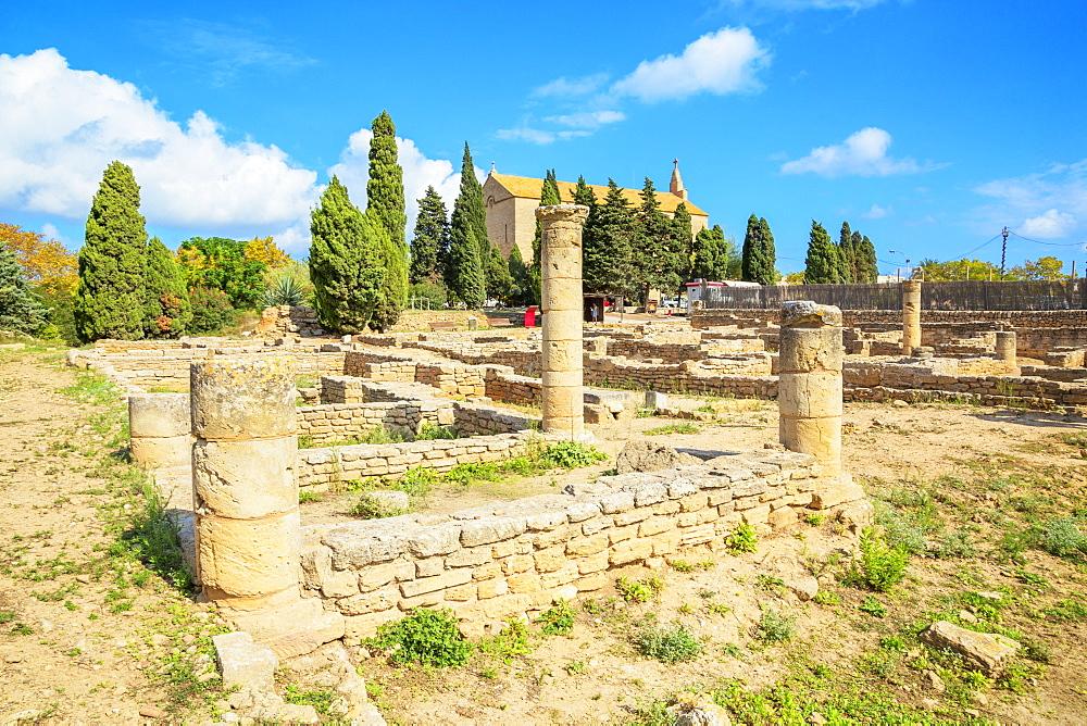 Pollentia Roman Ruins, Alcudia, Mallorca (Majorca), Balearic Islands, Spain, Europe