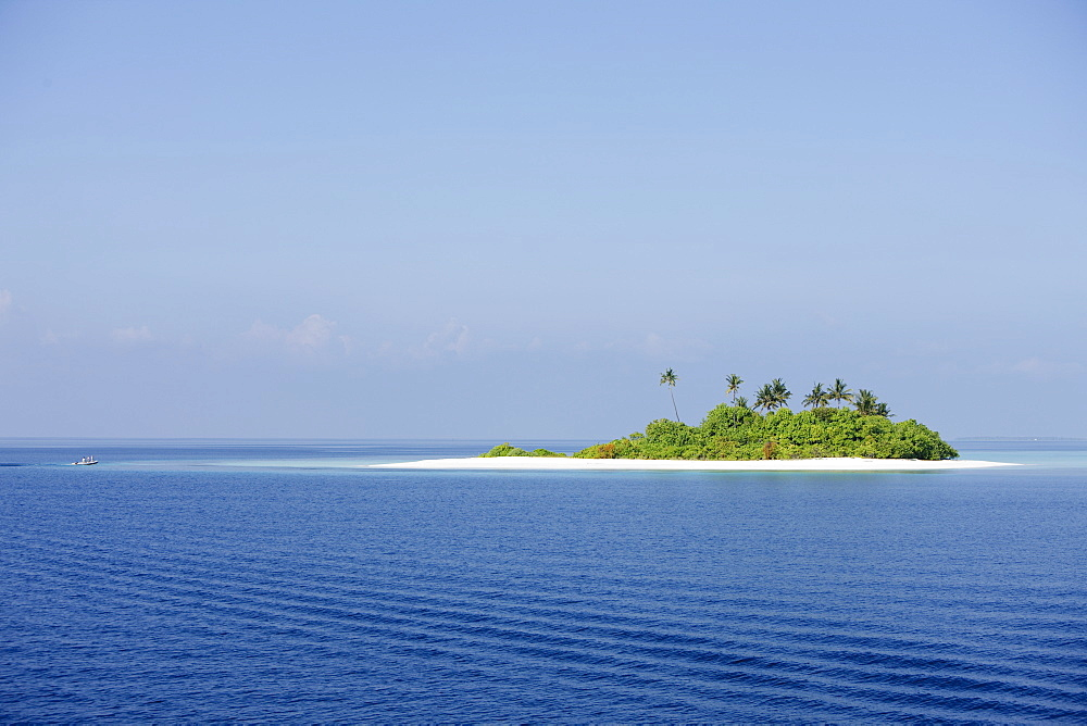 Island in the Maldives, Indian Ocean, Asia