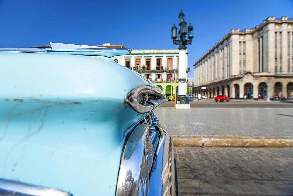 American car, Havana, Cuba, West Indies, Caribbean, Central America