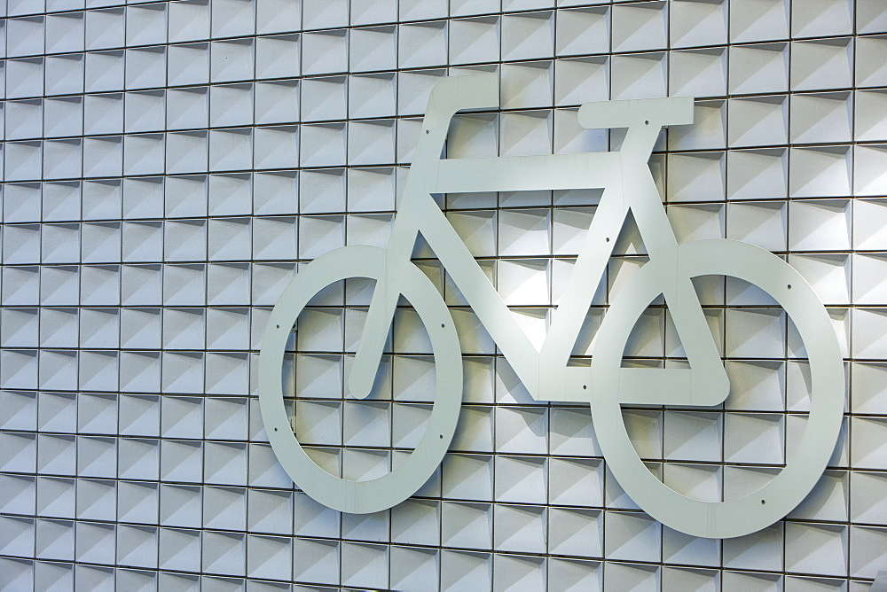 Cycle Park sign, Amsterdam, The Netherlands, Europe