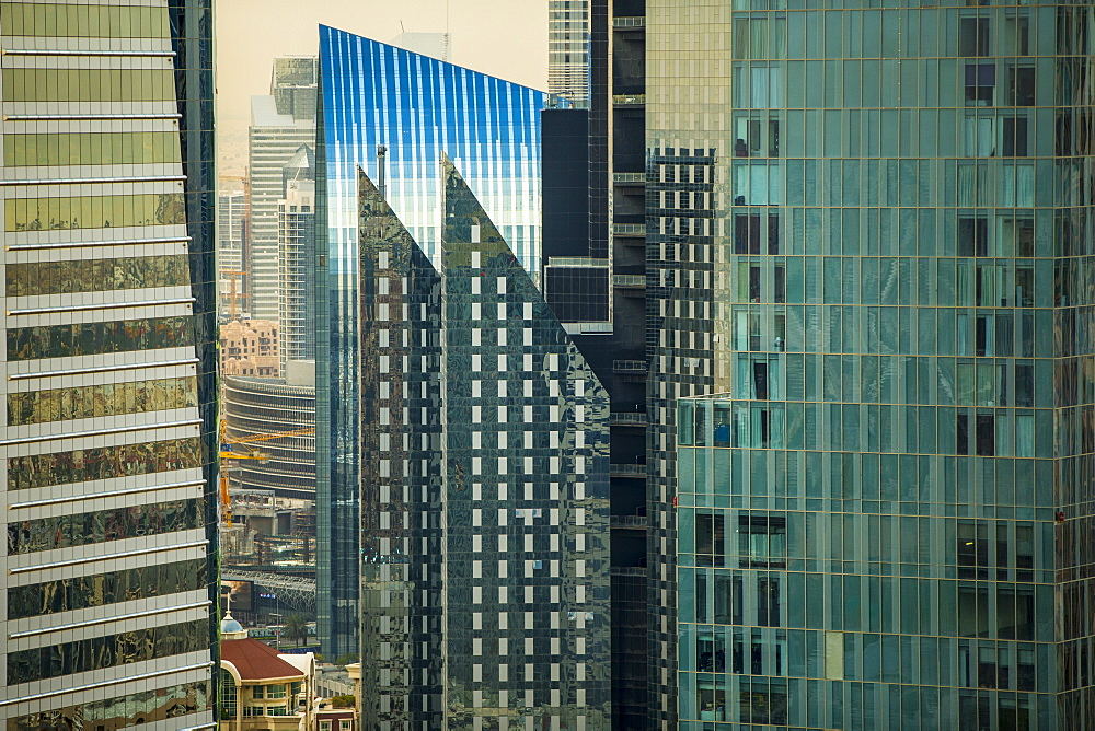 Financial District, Dubai, United Arab Emirates, Middle East